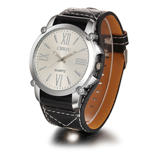 Excellent Quality New Brand Quartz Watches Womens Leather Band Fashion Dress Quartz Wristwatches Roman Numerals Watches
