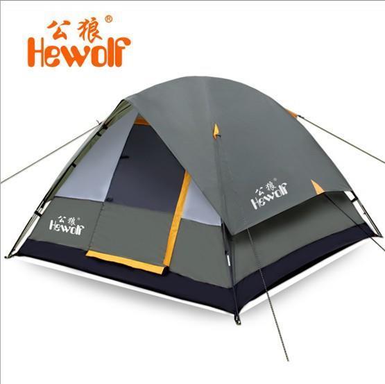 Туристическая палатка 2/3 Hewolf 2015 614