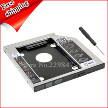 New 2nd HDD SSD Hard disk drive caddy Adapter Bay for MSI GE60 GE70 20C 20D 20E Series Laptop DS-8A9SH DVD()