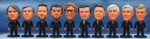 2.55 Inch 6.5*3.5 CM Hot Sale Kodoto Soccer Star Doll Super Coaches Mini Resin Figures Funny Dolls In Suit With OPP Bag(China (Mainland))