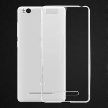 Xiaomi Mi4i Case Cover 0 6mm Ultrathin Transparent TPU Soft Cover Protective Case For Xiaomi Mi4i