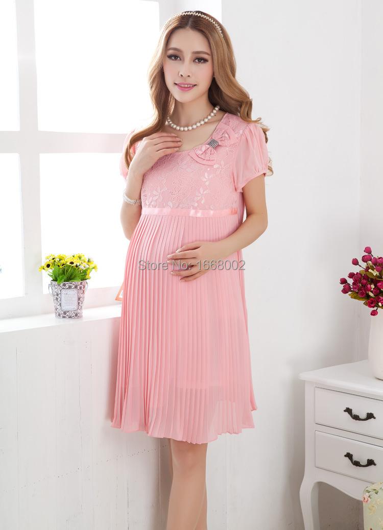 Шифоновые платья на беременных фото