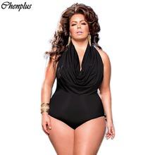 2016 new Arrival women big size swimsuit plus size swimwear one piece monokini summer sytle ruffle front