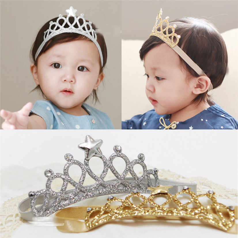 Delicate Hot Fashion New Lovely Children's Cute Girl Accessories Hairband Baby Hair Band Elastic Flower Crown Headwear Ju9(China (Mainland))