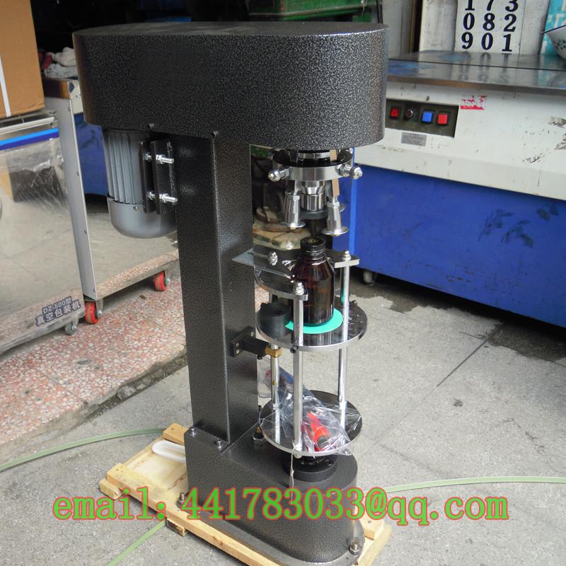DK-50 / D metal theft proof cap locking machine Bottle Metal lid sealing Oral bottle - TINKA MACHINERY HOUSE store