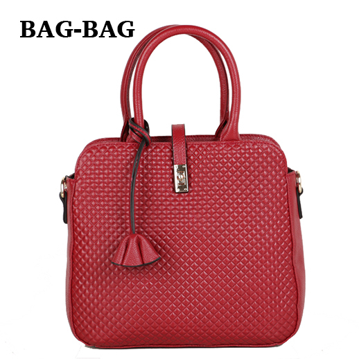 5 Color NEW Women Genuine Leather handbag Trunk Calfskin TOTE Fashion Plaid Cowhide Shoulder bags Real Skin Crossbody bag A143(China (Mainland))