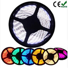 3528 5050 5630 3014 5730 LED strip DC12V flexible light 60 leds/m white/warm white/red/greed/blue/yellow/RGB color, 5m/lot