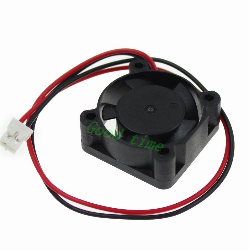 Wholesale 20 pieces 2510 25mm 25 x 25 x10mm 2Pin DC Brushless mini Cooling Fan 12v Chipset Heatsink(China (Mainland))