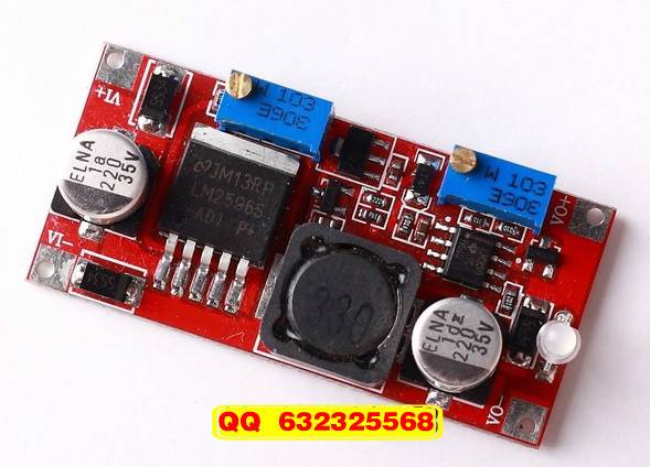 Constant current buck LED driver module lithium-ion battery Input 7-35V output 1.3-30V(China (Mainland))