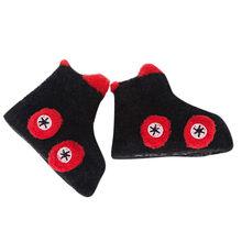 Теплые зимние носки для малышей Милые Мягкие осенние носки для новорожденных девочек мягкие нескользящие носки для маленьких мальчиков с м...(China)