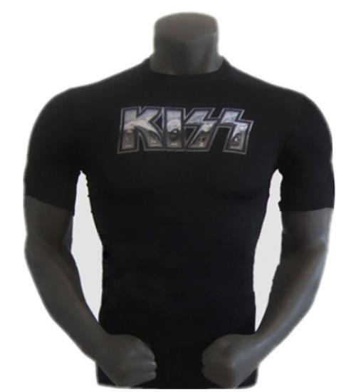 New 2015 Brand Gym Bodybuilding T shirt Men Fitness Sport T shirt Tights Clothing Men s