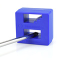 NEWACALOX High Quality Magnetizer Demagnetizer Tool Blue Screwdriver Magnetic