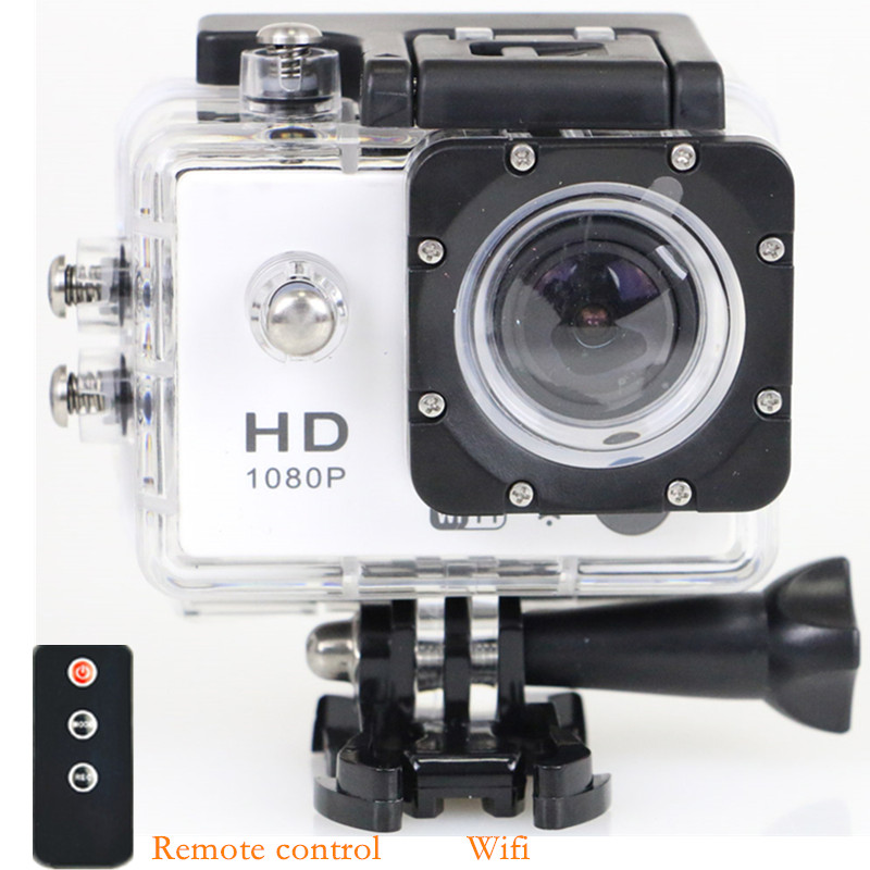 Original WiFi Action Camera SJ7000 Remote Control 1080p Full HD 12mp Waterproof Diving Sport Camera Helmet DV Camcorder(China (Mainland))