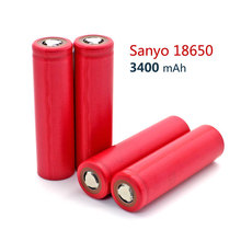 New Original Sanyo 18650 NCR18650BF high capacity 3400mAh Li-ion 3.7v Battery rechargeable batteries - China Electronic Home store