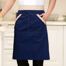 Adult Apron Korean Fashion Kitchen Restaurant Tea Shop Coffee Shop Supermarket Chef Overalls Apron(China)