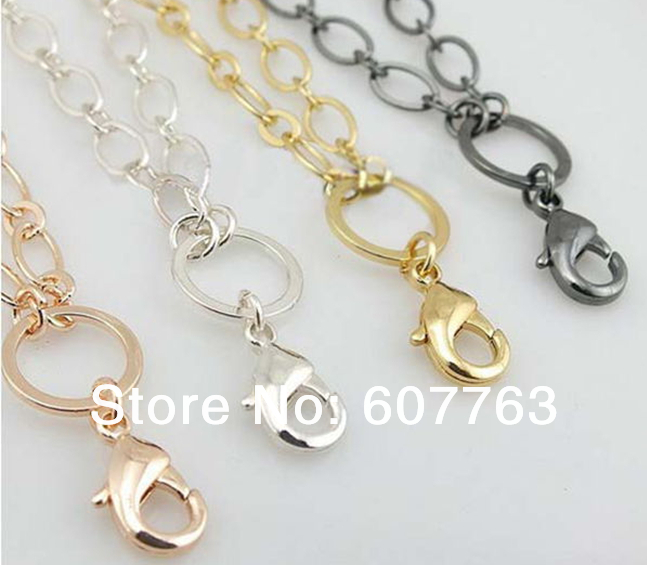 2014 New 28 316L Stainless steel Flat Rolo Mother&amp;Son Rolo Chain Necklace for Floating Charm Living Locket<br><br>Aliexpress