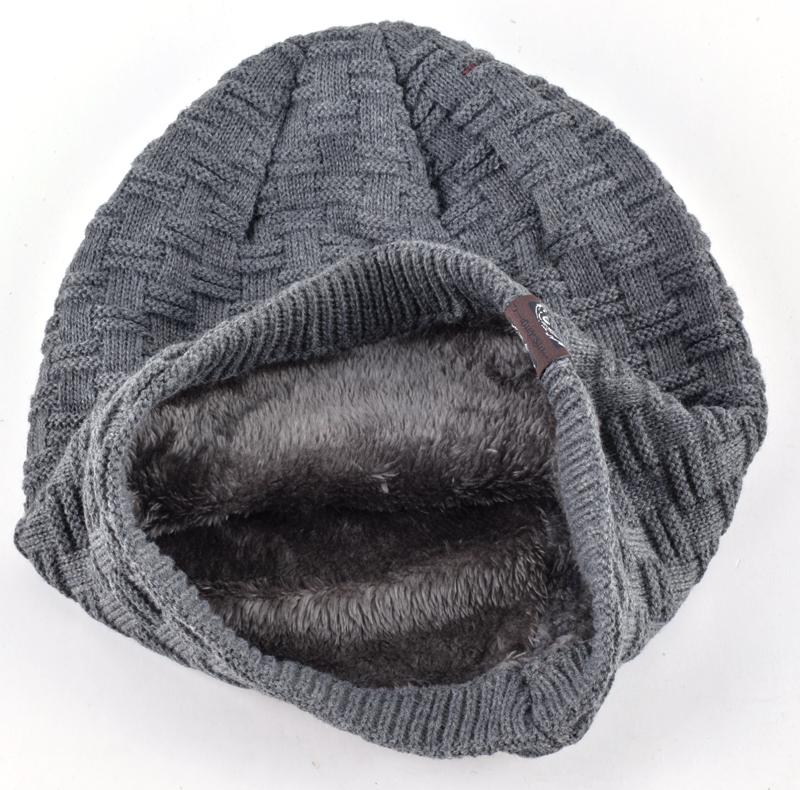 2016 outono e inverno chapéu gorro chapéus para homens e mulheres de meia manter quente malha Skullies & gorros 7 cores