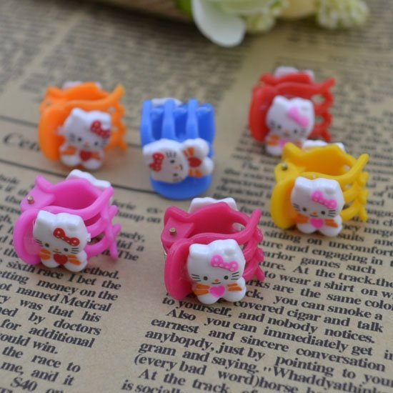 Fashion Cute kids Princess headwear kitty hair claws hair accessories children gift 1parcel=6pcs 1lot=2parcels H44