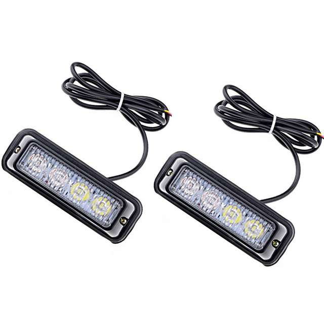 2x truck car beacon flash led emergency strobe lights 4. Black Bedroom Furniture Sets. Home Design Ideas