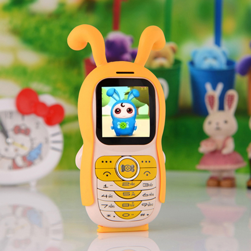 "1.44"" German French Greek Dutch Arabic unlocked small kids girls lady cute cartoon Small mobile phone mini cellphone KT888 P007(China (Mainland))"
