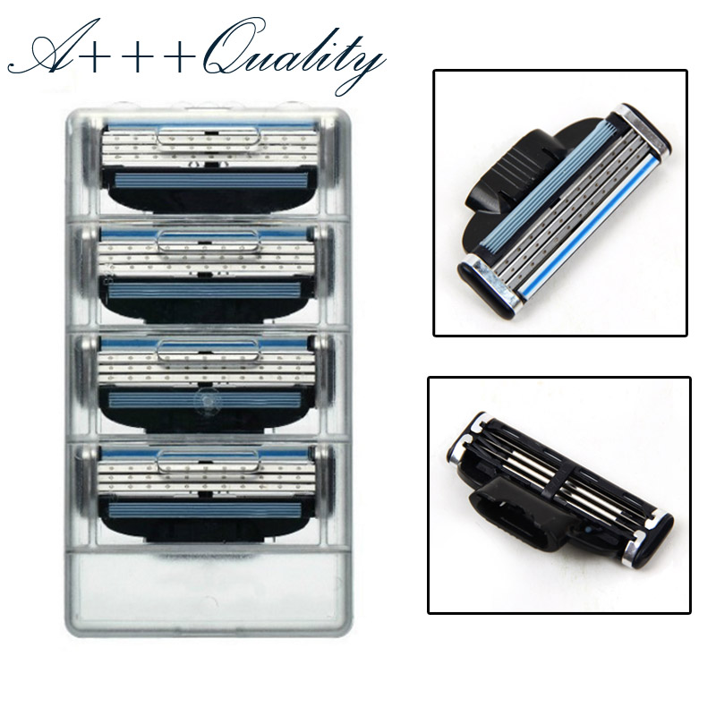 Best Quality Face Care Men's Razor Blades high Quality Shaving Sharp Razor Blade for Men Cuchillas De Afeitar Grade A++ 12pcs(China (Mainland))