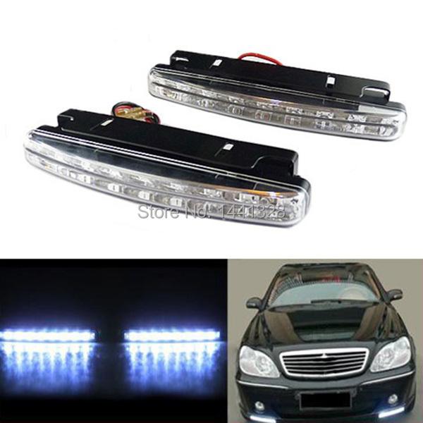 Bright-2pcs-Car-LED-Daytime-Running-Ligh