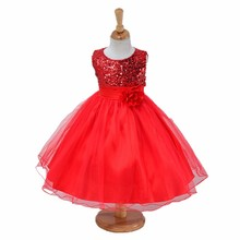 1-14 yrs בני נוער בנות שמלת מסיבת חתונת נסיכת חג המולד Dresse מסיבת ילדה תלבושות ילדים כותנה מסיבת בנות בגדים(China)