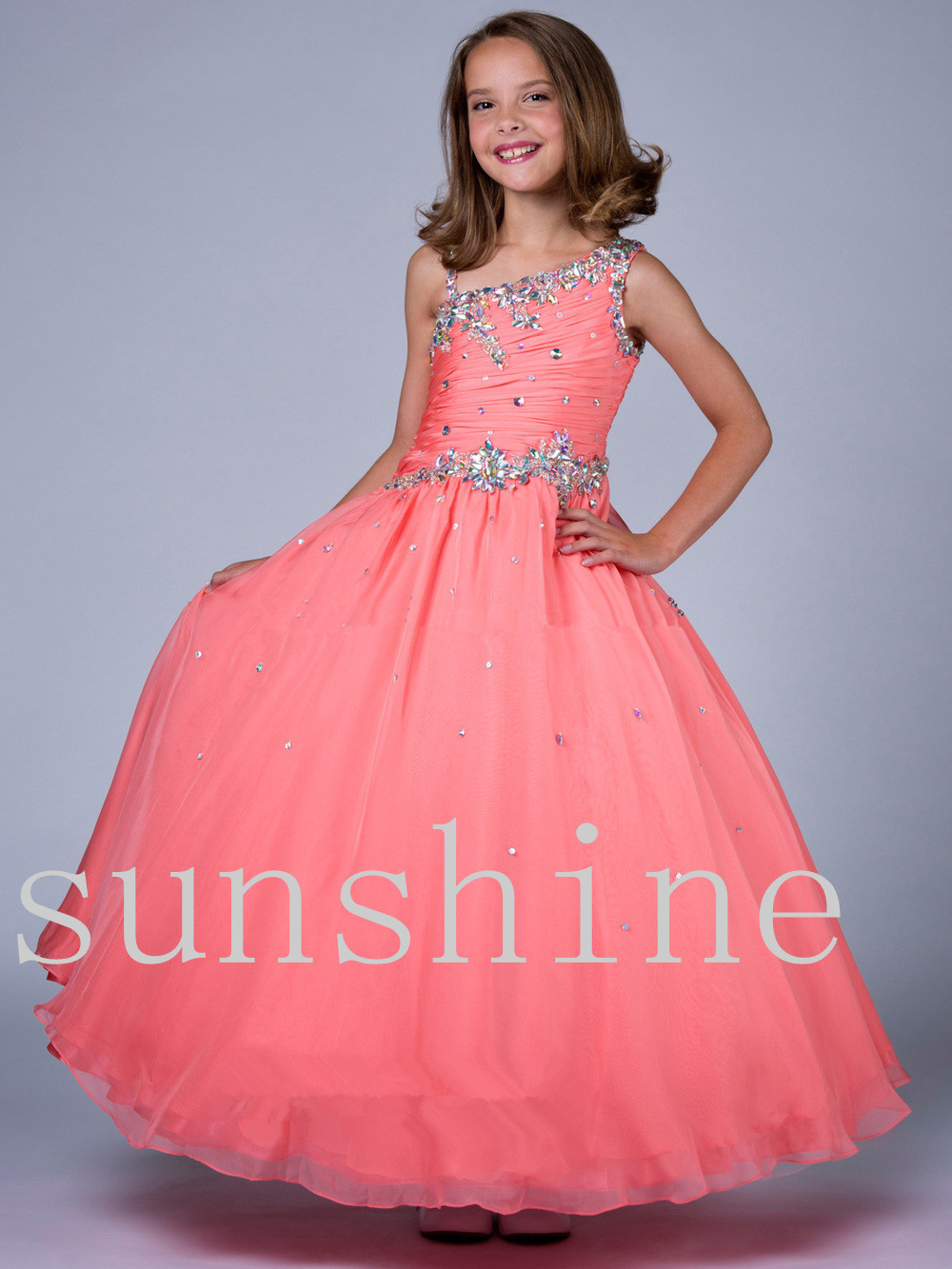 Discount Flower Girl Pageant Dresses - Wedding Short Dresses
