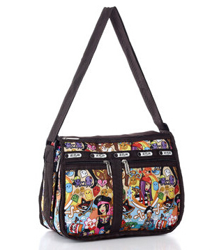 Lesport Brand Bag Women's Messenger Bags Multi-colors Nylon Shoulder Cross-body Bag Sac Female Travel Sport Small Bag NB72-003(China (Mainland))