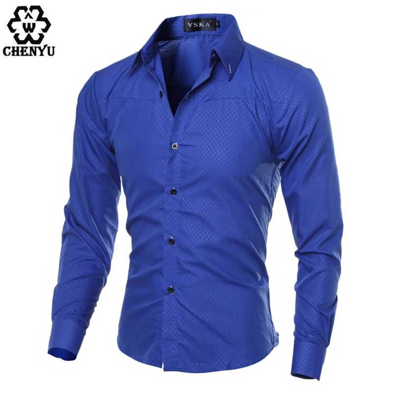 Buy 2016 spring fashion brand men 39 s shirt for Best mens dress shirts 2016