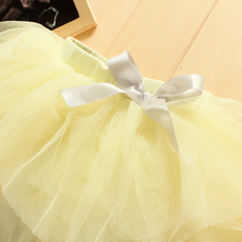 Kids Baby Girls Culottes Leggings Gauze Pants Party Skirts Bow Candy Tutu Dress