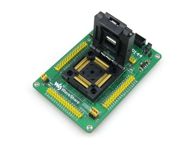 STM32-QFP144 # QFP144 LQFP144 STM32F STM32L STM32 Yamaichi IC Test Socket Programming Adapter 0.5mm Pitch