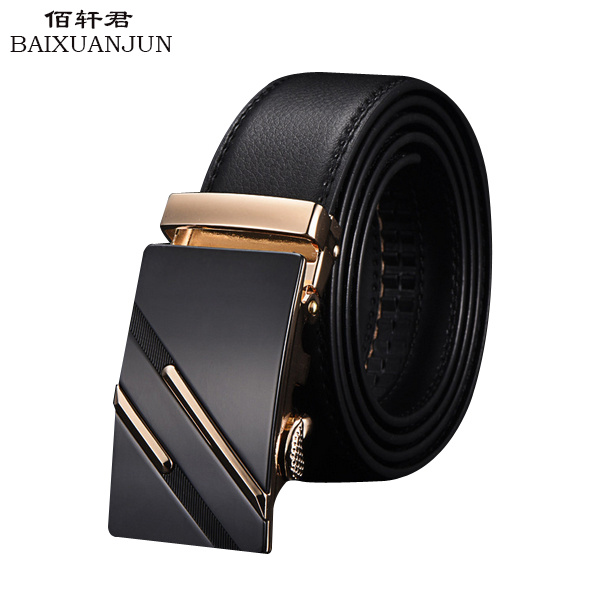 2016 new high-end men's leather belt leather belt leather two-story high-quality classic business suit belt(China (Mainland))