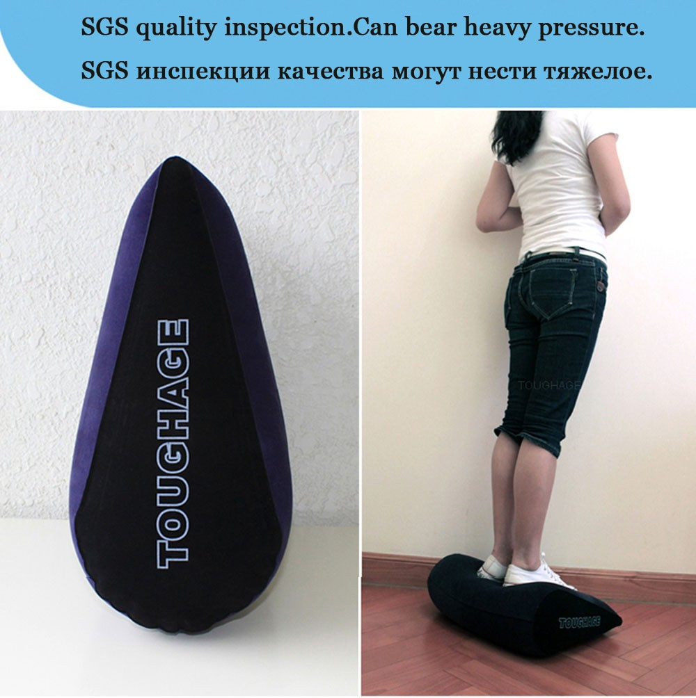 TOUGHAGE Sex Position Inflation Pillow Wedge US SELLER With FREE Pump