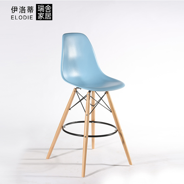 The new special hot fashion simple bar stool high chair with a backrest reception<br>