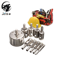 Jelbo Mini Metal Hole Saw 10PC Drill Bit Set Power Tools Drill Bit Metal Glass Drill
