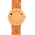 BoboBird Brand 12 Holes Design Wooden Watches Cool Causal Woman Quartz Watch Wood Leather Band Wood