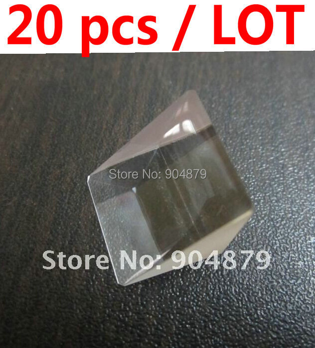 20 pcs / Lot Optical Prism of Fingerprint Sensor used for Biometric Products Serials(Whole new prism manufactured time attendanc(China (Mainland))
