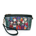 YQYDER MINI Cartoon Print Women Clutch Bag High Quality Leather Crossbody Bags Ladies Colorful Small Shoulder
