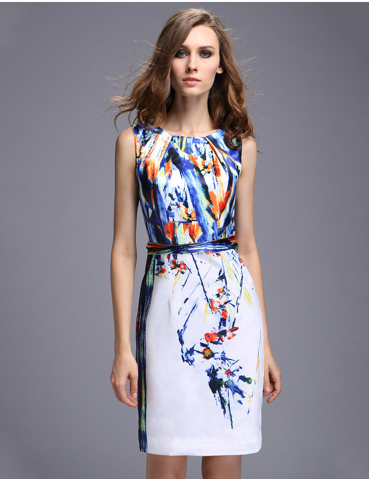 Floral dresses with sleeves