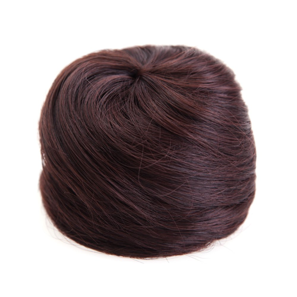 Гаджет  Fashion Fluffy Charming Straight Synthetic Chignons For Women  Hair Bun Extension The Chignon Hairpiece Fake Hair Bun YJ07581 None Волосы и аксессуары