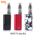 Electronic Cigarette Vape Box Mod Kit E cigarette Vaporizer Mini Electronic Hookah SMY 75 for SMOK