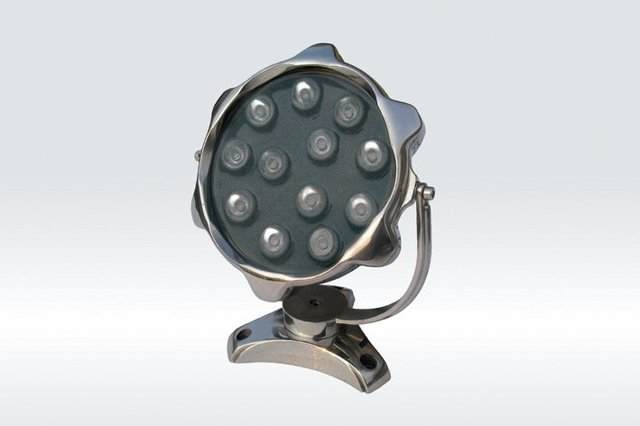 12*1WLED Underwater Light;DMX512 compatible;DC12V input;IP68;Stainless steel housing;please advise the color you need