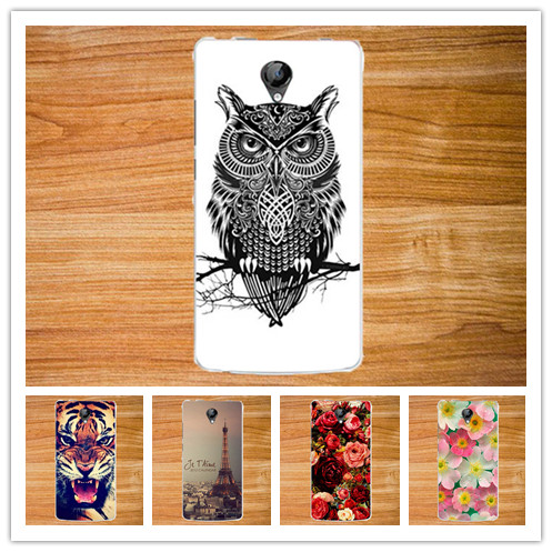 High Quality Printed Flowers animals Towers SOFT TPUCover For Micromax Bolt D320 Case 14 Patterns case for Micromax Bolt D320(China (Mainland))