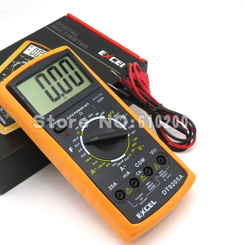 Digital Electrical Tester : Free shipping ac dc digital lcd display electrical
