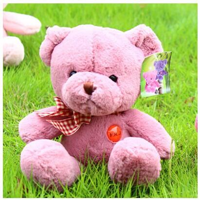 10 piece small teddy bear toys skin red bear dolls cute plush teddy bear dolls gift doll about 27cm<br><br>Aliexpress