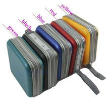 Fashion 40 Disc CD DVD Holder and Protect Storage Carry Bag/CD Case/Wallet/package(China (Mainland))