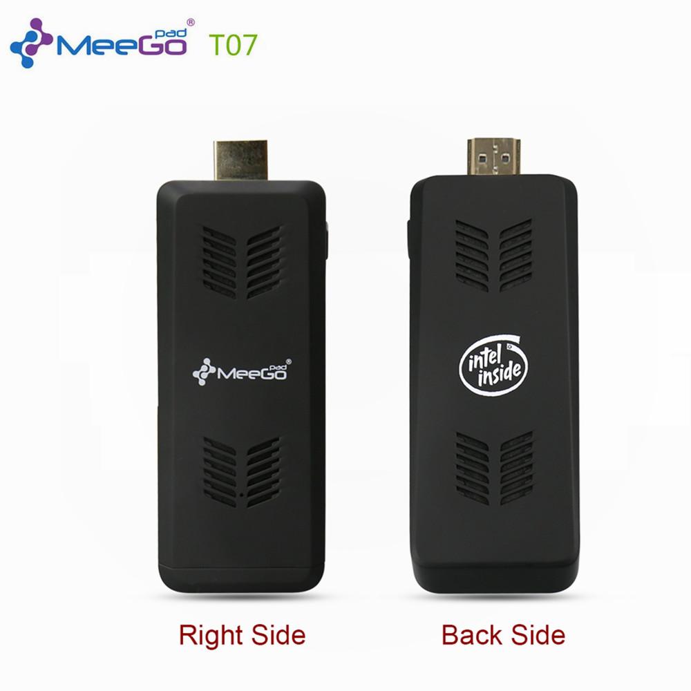 Meegopad T07 Cherry Trail mini pc windows10 x5 z8300 mini Compute Stick 2GB 32GB emmc HDMI