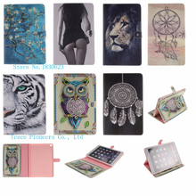 New animal Cartoon Case for Samsung Galaxy Tab 4 T230 PU Leather Tablet Stand Cases with card slot for Galaxy Tab 4 Nook 7.0inch