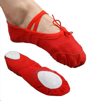 2016 FreeShipping Soft Sole Dance Ballet Shoes for Kids Adults Women Breathable Canvas Practice Gym Shoes Yoga Shoes14.5~25cm